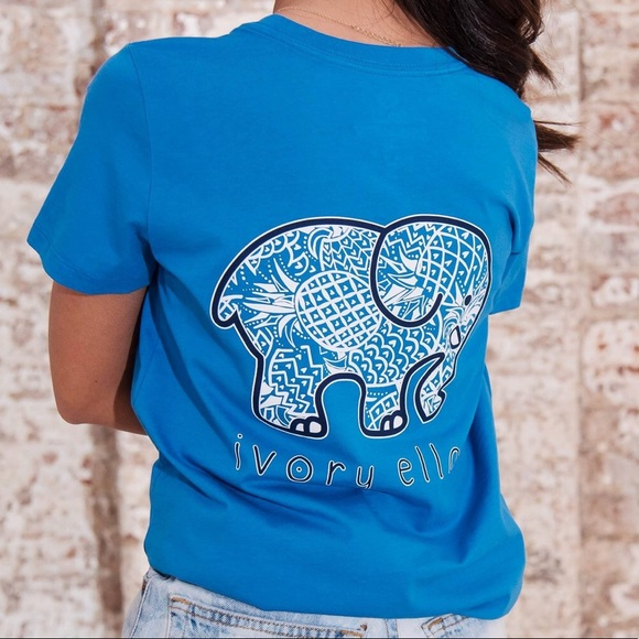 67a3ddbd3 ivory ella Tops - Ivory Ella Pineapple Oasis tee -BRAND NEW IN BAG